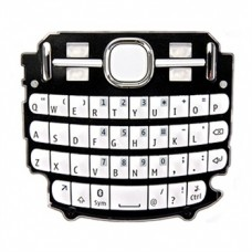 Klaviatūra Nokia 200 Asha white HQ