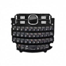 Klaviatūra Nokia 200 Asha black HQ
