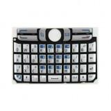 Klaviatūra Nokia E61 silver HQ
