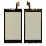 Touch screen Sony ST26i Xperia J black originalas