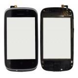 Touch screen Huawei U8655-2 with frame black originalas