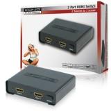 HDMI sumatorius 2 in1 Konig KN-HDMISW10 2port