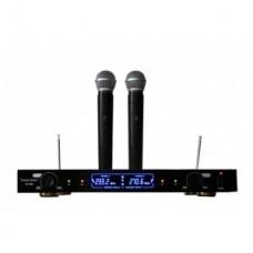 Bevieliai mikrofonai su priemimo stotimi Voice Kraft VK-V380