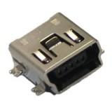 Įkrovimo lizdas mini USB (SMD)