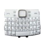 Klaviatūra Nokia E6 white originalas/HQ