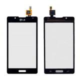 Touch screen LG P710 Optimus L7-2 black originalas